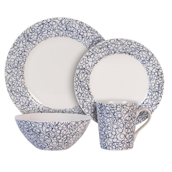 Free 4 Piece Place Setting, Service for 1 by Maxwell & Williams