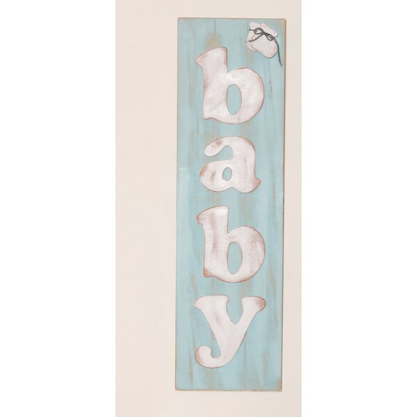 Stacie Blessings Wooden Baby Sign Wall Letters by Harriet Bee