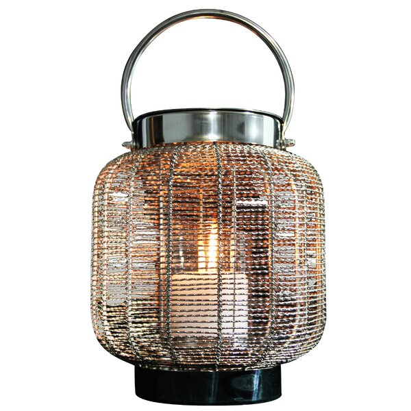 Neptune Metal Lantern by Anywhere Fireplace