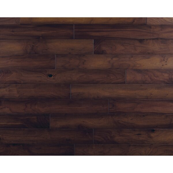 Hometown 5 Engineered Walnut Hardwood Flooring in Brick Front by Mannington