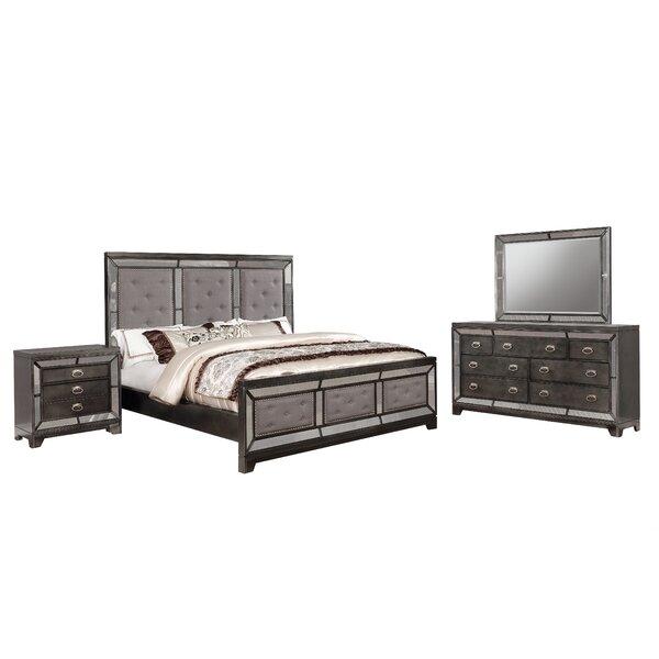 Margaret Standard 4 Piece Bedroom Set by Everly Quinn