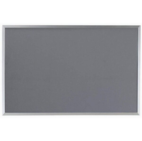 Designer Fabric Wall Mounted Bulletin Board by AARCO