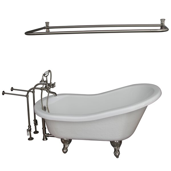 67 x 29.5 Soaking Bathtub Kit by Barclay