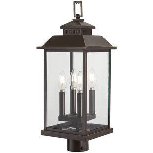Affordable Helms Outdoors 4-Light Lantern Head By Alcott Hill