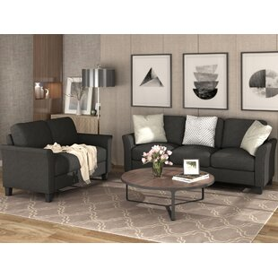 Cercis 2 Piece Standard Living Room Set by Red Barrel Studio®