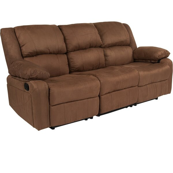 Get New Kinslow Standard Recliner Sofa by Red Barrel Studio by Red Barrel Studio