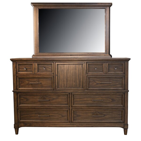 Minix 10 Drawer Double Dresser by Alcott Hill
