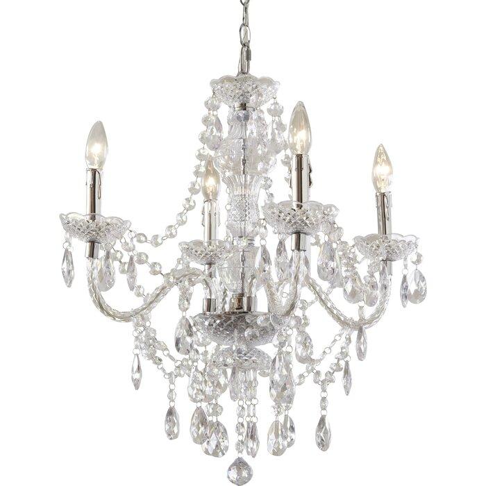 Birch lane kids ice palace 4 light crystal chandelier reviews ice palace 4 light crystal chandelier aloadofball Gallery