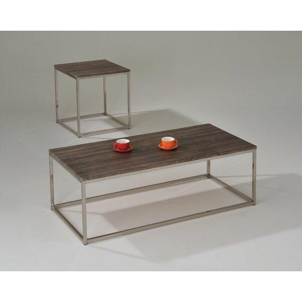 Aurelio 2 Piece Coffee Table Set by 17 Stories