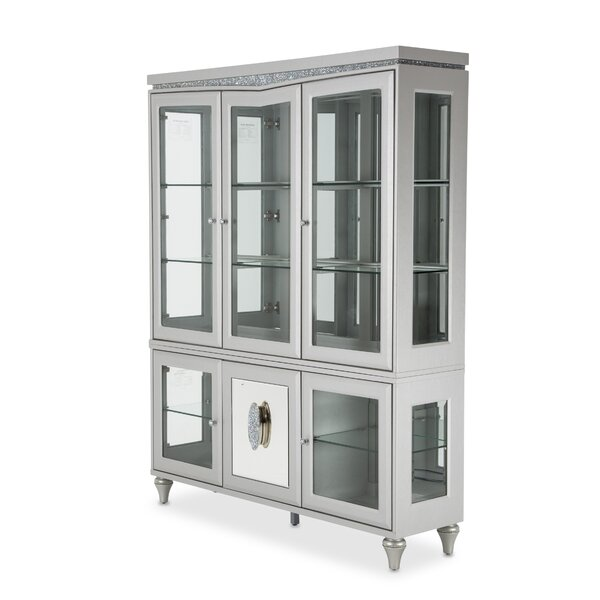 Melrose Plaza Lighted China Cabinet by Michael Amini