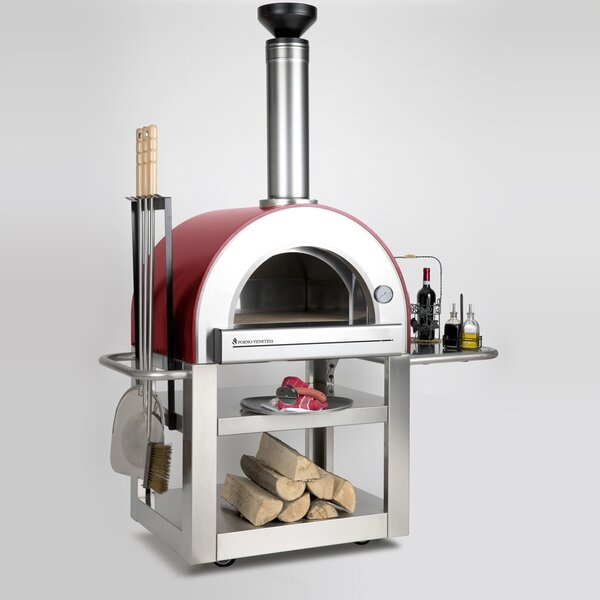 Pronto 500 Outdoor Pizza Oven by Forno Venetzia