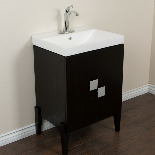 25 Single Sink Vanity Set by Bellaterra Home