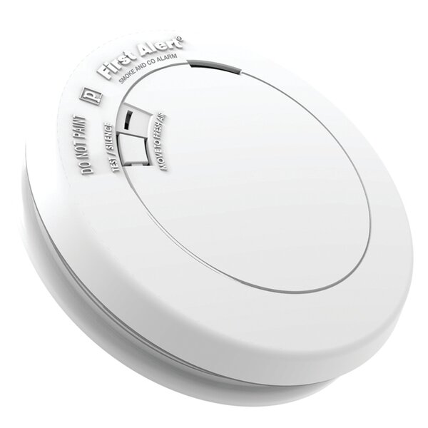 Sealed-Battery Photoelectric Smoke & Carbon Monoxide Alarm by First Alert