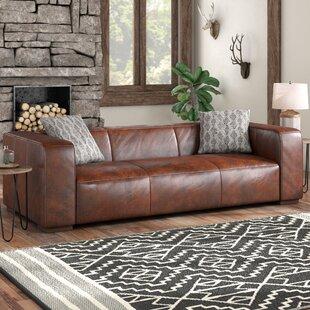Sherron Leather Sofa