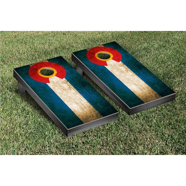 Vintage Cornhole Game Set by Victory Tailgate