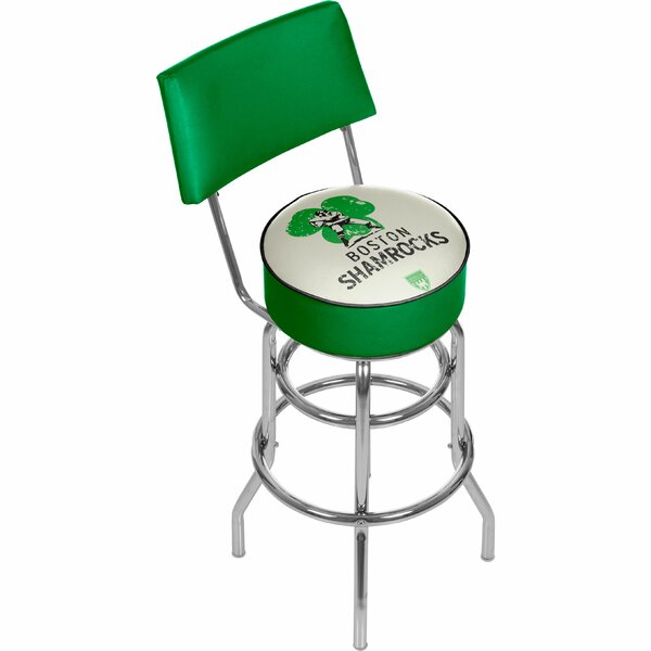Vault of American Football 31 Swivel Bar Stool by Trademark Global