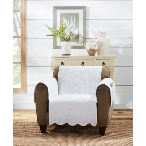 Heirloom Quilted Box Cushion Armchair Slipcover By Sure Fit