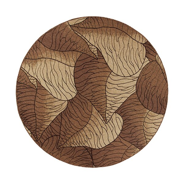 Saratoga Beige Fauna Indoor/Outdoor Area Rug by Bloomsbury Market