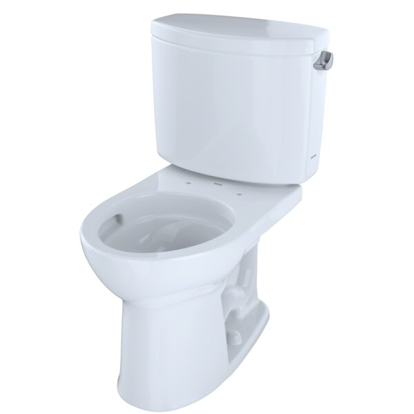 Drake® II Dual Flush Round Two-Piece Toilet by Toto