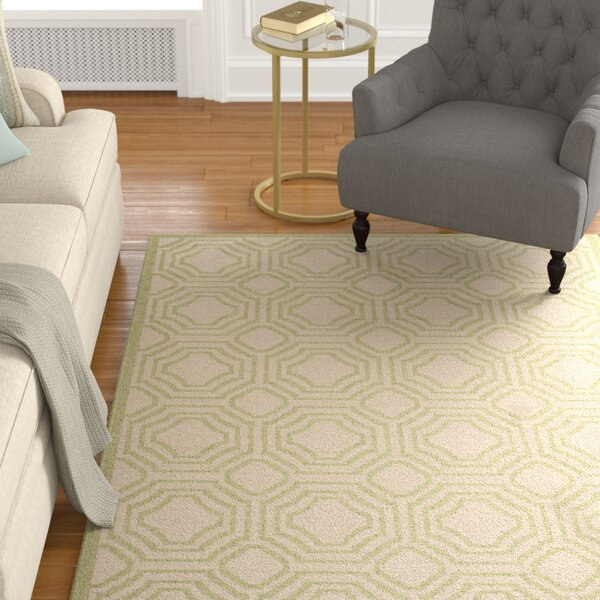 Poole Beige/Sweet Pea Indoor/Outdoor Rug by Charlton Home