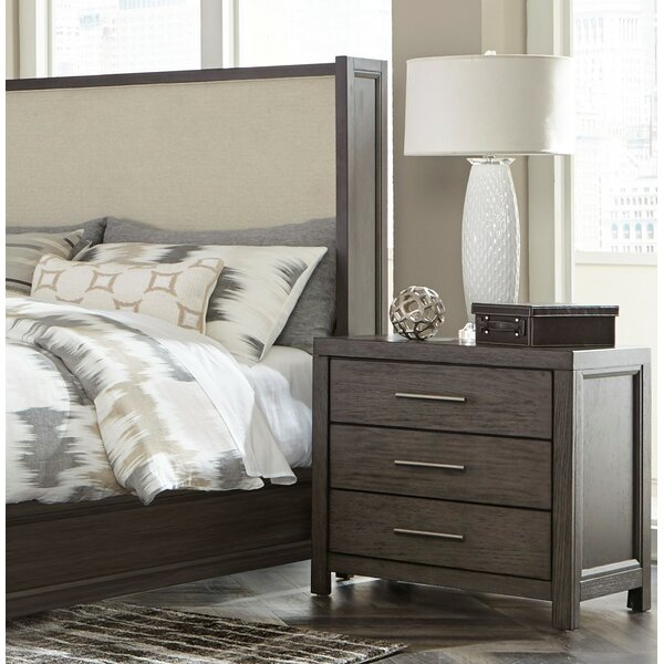 Easthampton 3 Drawer Nightstand by Ivy Bronx