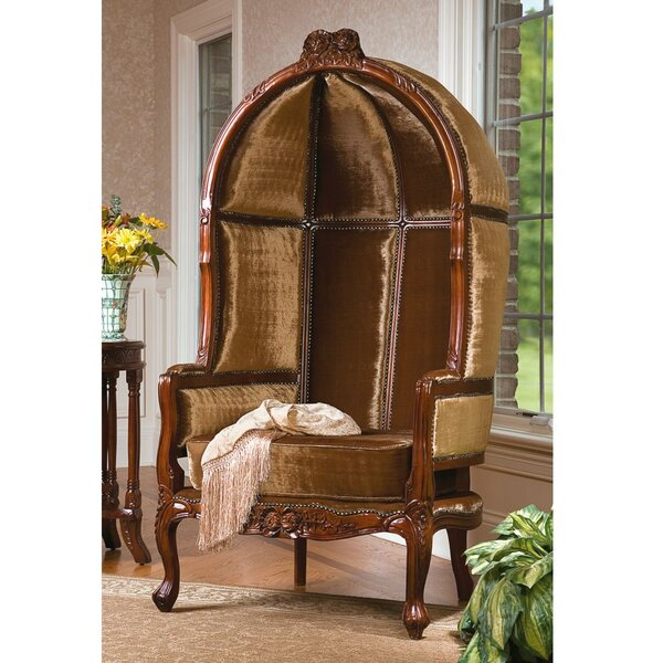 Victorian Balloon Chair by Design Toscano