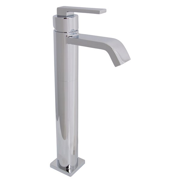 Lura Single Hole Bathroom Faucet with Drain Assembly