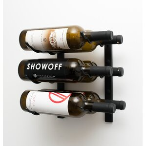 Wall Series 6 Bottle Wall Mounted Wine Rack by VintageView