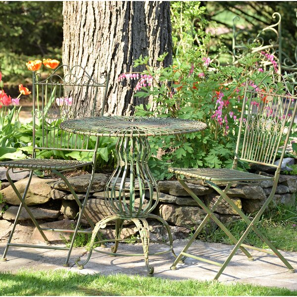 Callendale 3 Piece Bistro Set by Ophelia & Co.