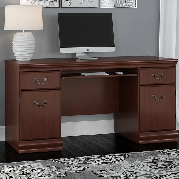 Birmingham Credenza Desk by Astoria Grand