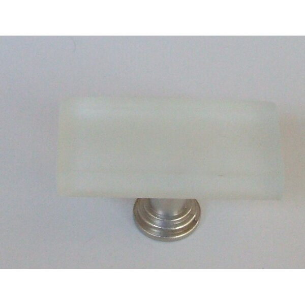 Vetro Frosted Bar Knob by Vine Designs LLC