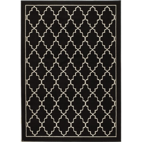 Northpoint Black Area Rug by Mercer41