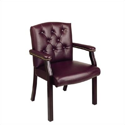 Traditional Guest Chair with Padded Arms by Office Star Products