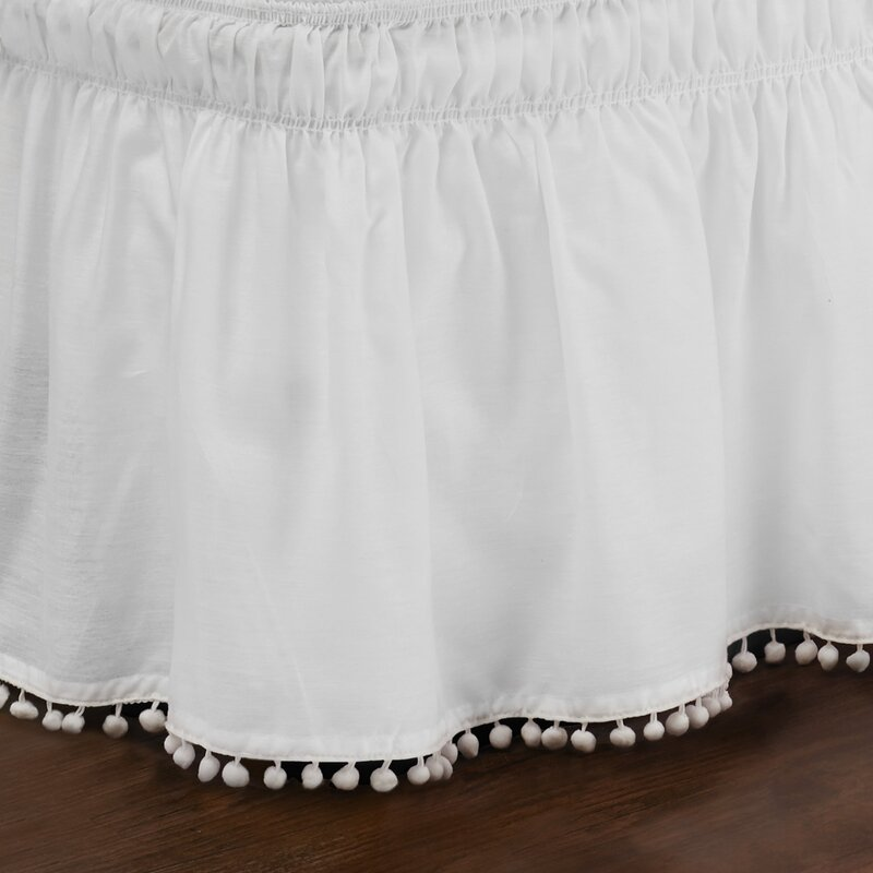 Zavier Fringe Bed Skirt Amp Reviews Joss Amp Main