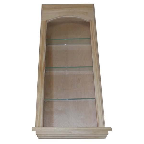 Standard in the Wall Cove 3 Shelf Niche by WG Wood Products