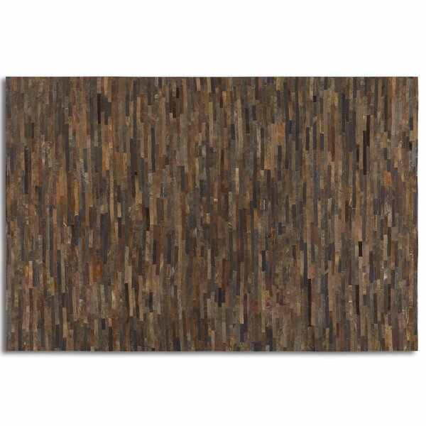 Albata Rust Brown Area Rug by Loon Peak
