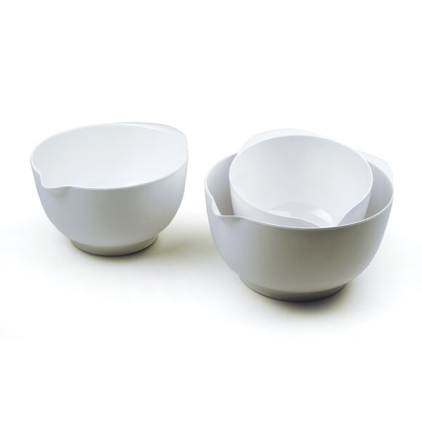 3 Piece Melamine Mixing Bowl Set by RSVP-INTL