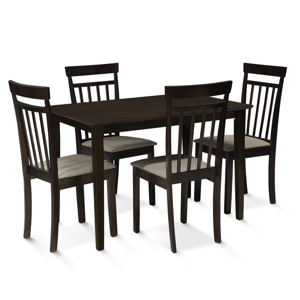 Roznin 5 Piece Dining Set by Red Barrel Studio