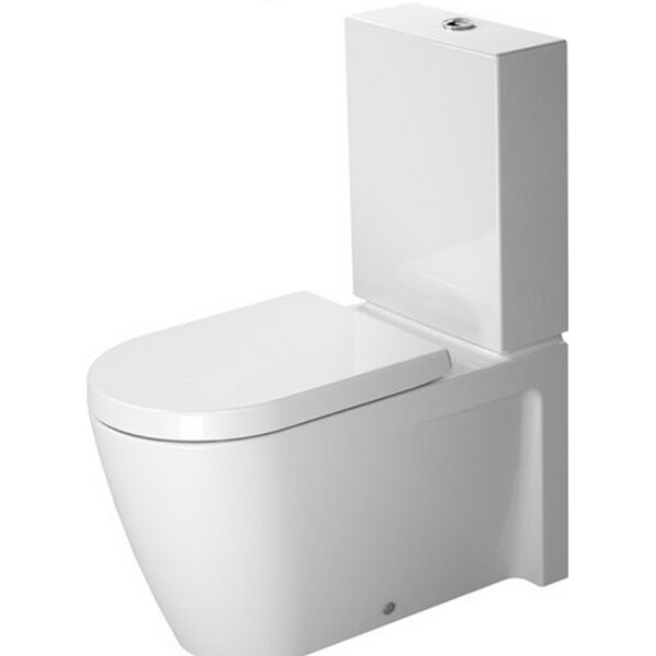 Starck Toilet Close-Coupled by Duravit