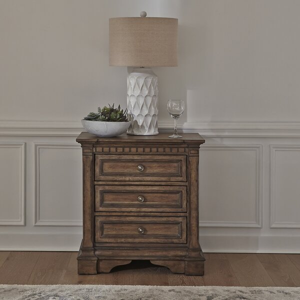 Meriam 3 Drawer Nightstand by Canora Grey