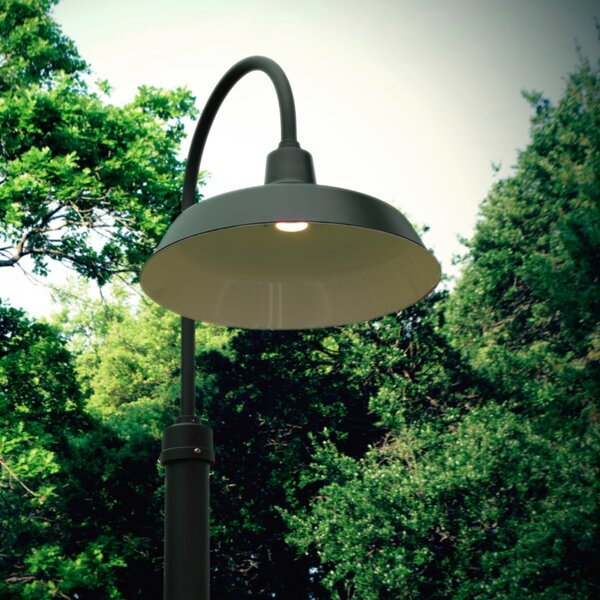 Oldage 1-Light LED Post Light by Cocoweb