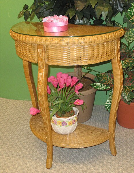 Charleston Console Table By Wicker Warehouse