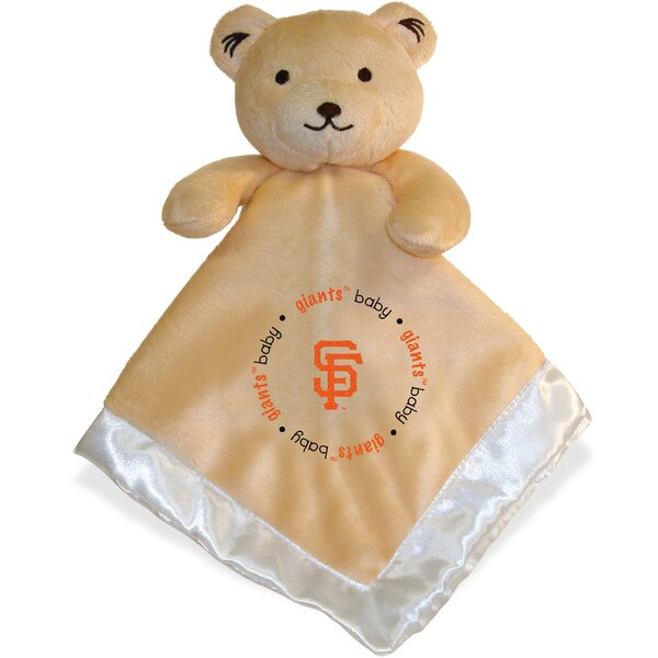 MLB Snuggle Bear Baby Blanket by Baby Fanatic