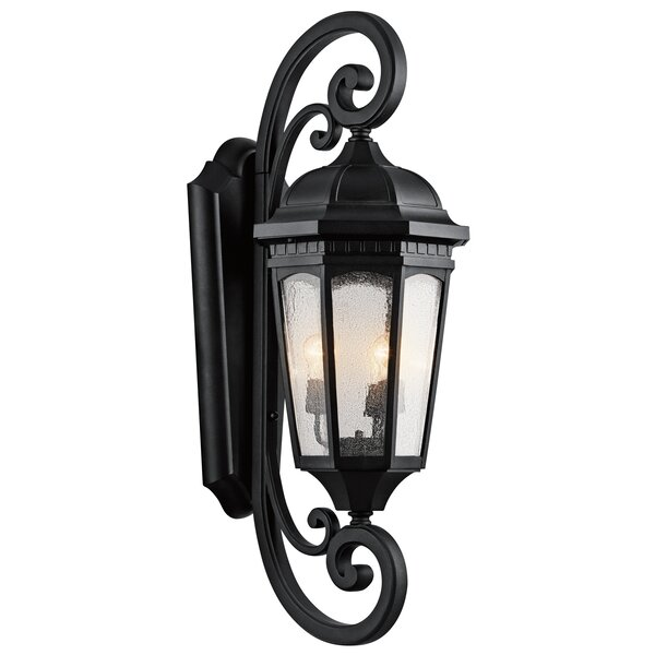 Flinders 3-Light Outdoor Wall Lantern by Darby Home Co