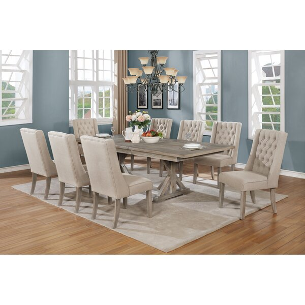 Nyx 9 Piece Dining Set by One Allium Way