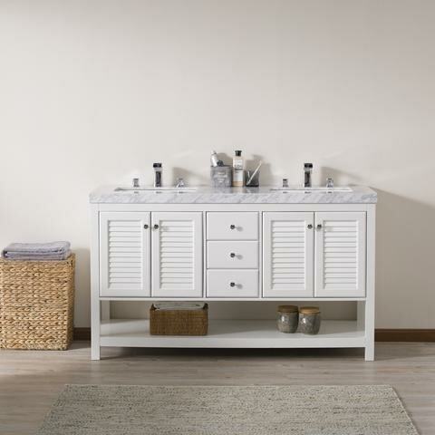 Clifford 60 Double Bathroom Vanity Set by Rosecliff Heights
