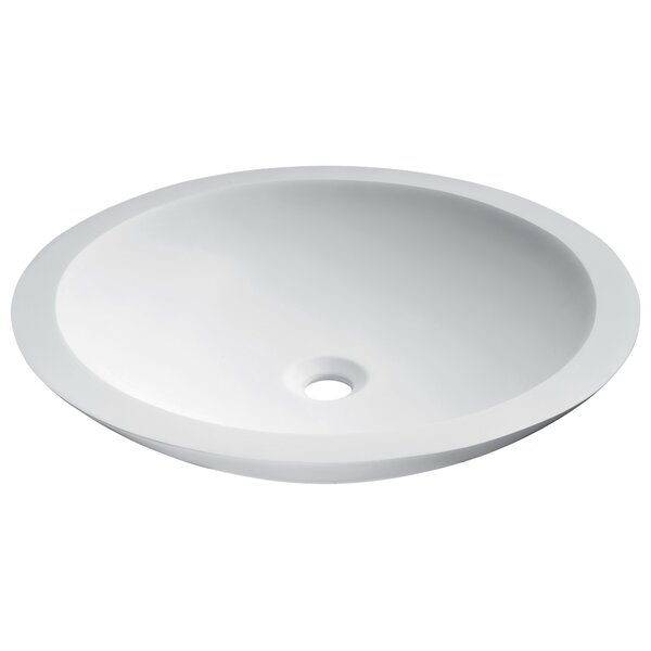 Juniper Stone Circular Vessel Bathroom Sink by ANZZI