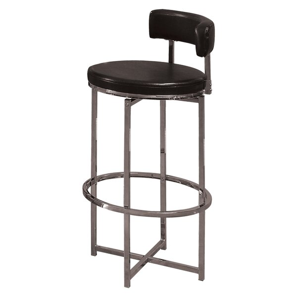 Lampley Swivel Bar Stool by Williston Forge Williston Forge