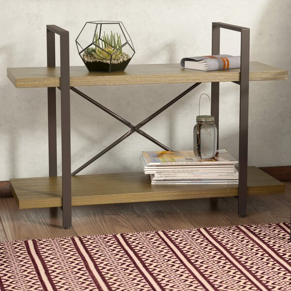 Cousteau Two Level Etagere Bookcase by Laurel Foundry Modern Farmhouse