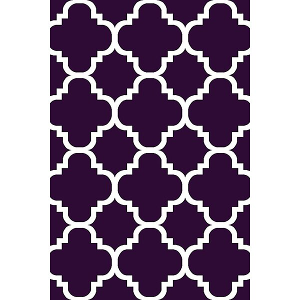 Mccampbell Purple Area Rug by Ivy Bronx